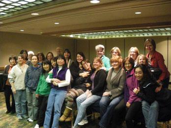 初めてのコロラドでのIH講習会:10日間で笑える様に顔の皮膚が治って来た。