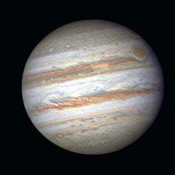 Foto: Gerald Reiser, Sternwarte Neumarkt, Jupiter