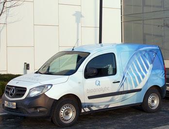 q-bioanalytic service car
