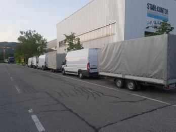 transport robe Švajcarska Srbija