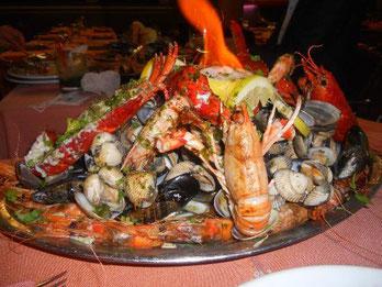 Рыбные рестораны в Барселоне. Рестораны с морепродуктами в Барселоне