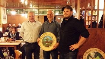 Günter Bauer, Xaver Herz, Alexander Wasl
