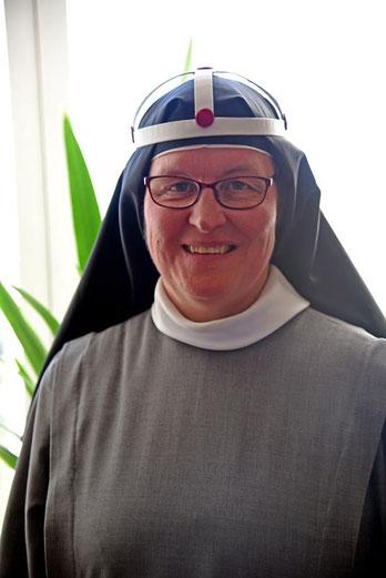 Mutter Maria ist erst die dritte Äbtissin nach der Reformation.