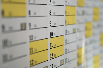 Neu Terminplanung 2020 aufgrund Corona-Pandemie
