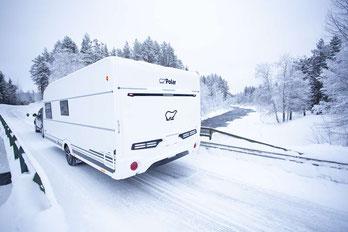 Polar Winter Wohnwagen