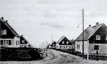 Conrads neues Siedlungshaus Am Taubenberg 9, 1938, 2. re.
