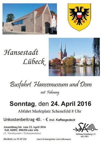 Busfahrt Hansemuseum und Dom
