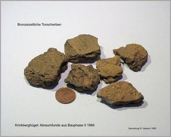 bronzezeitlicher Scherben