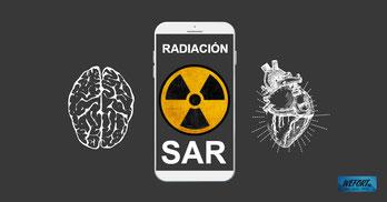Qué es la radiación SAR en teléfonos móviles