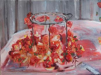 L'espoir fait vivre, Claire ALLARD, peinture à l'huile