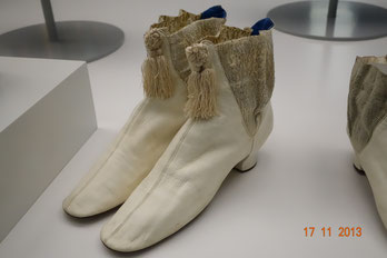 Victorian era shoes, Otago Museum Dunedin, New Zealand. picture taken by Nina Möller