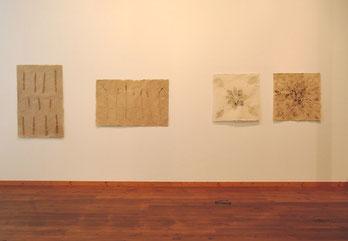 PAPIER-art ART-papier, Papierbilder mit Naturmaterialien , Michaela Metzler, Mattsee, Salzburger Seenland