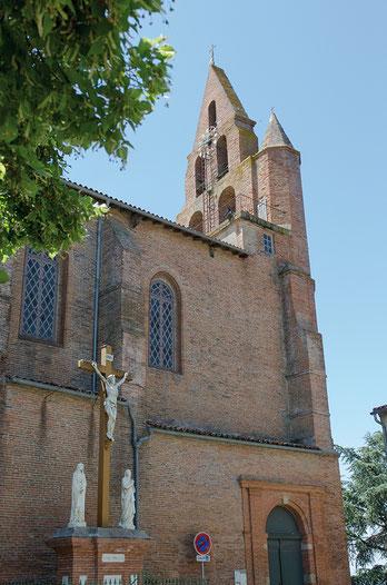 Eglise Saint Martin à Nailloux. Crédit photo : Couleur Média