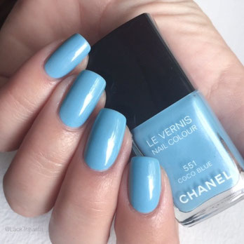 Swatch CHANEL COCO BLUE 551 by LackTraviata