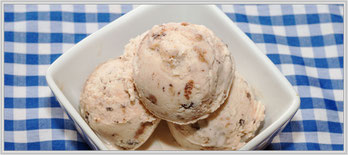 """Rezept für hausgemachte Eiscreme """"Cookies 'n Cream"""""""