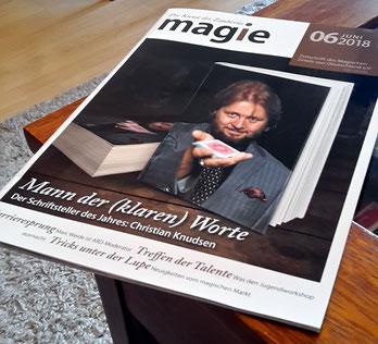 """Portrait in der """"magie"""" - Christian Knudsen, Zauberer in Hamburg"""