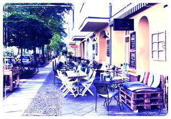 Die-Stulle, Berlin outdoors café