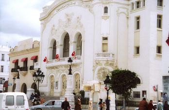 Théatre municipal, Tunis