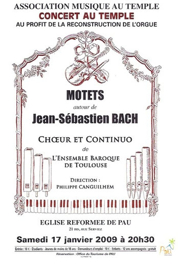 Motets - Jean Sébastien Bach