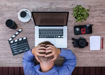 Migräne - Kopfschmerz - Stress
