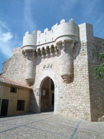 Puerta de Santa María. Hita. (Guadalajara)