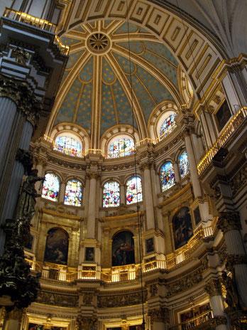 Capilla Mayor de la Catedral de Granada.