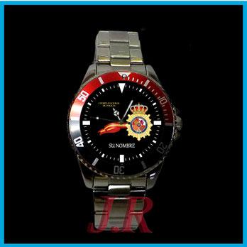 Relojes personalizados CPN, polica nacional, reloj cuerpo policia nacional