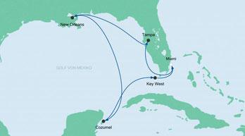 AIDAvita Golf von Mexiko