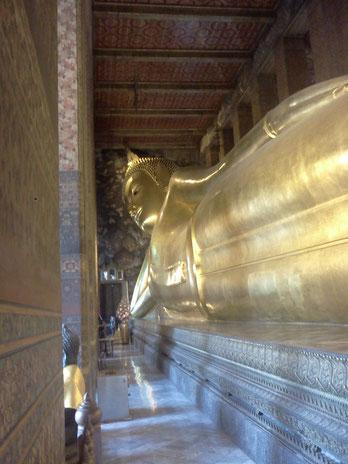 Wat Pho, grosser liegender Buddha