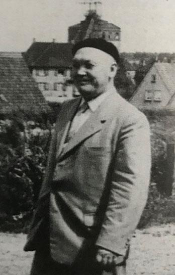 Paul Prinzler war Bürgermeister der Gemeinde Rünthe, geboren wurde er in Hettstedt. (Bildnachweis: Stadtarchiv Bergkamen)