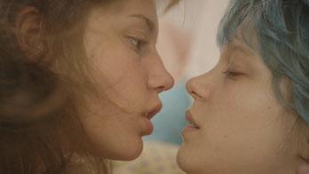 Adèle Exarchopoulos et Léa Seydoux: lesbien raisonnable? (©Wild Bunch)