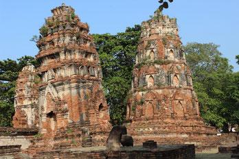 Besichtigen Sie kulturelle Highlights auf einer Rundreise nach Ayutthaya.