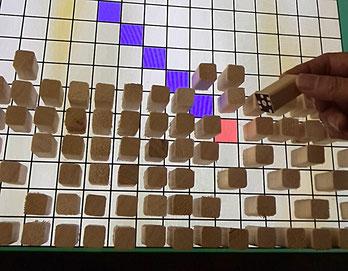 立体駒を用いた摩訶大将棋: 盤面のCGでアドバンスドモードを実現