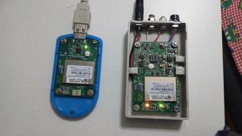 無線親機と測定子機