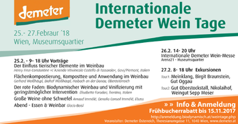 internationale demeter win tage wien