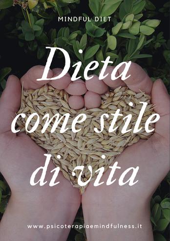 dieta mindfulness corso