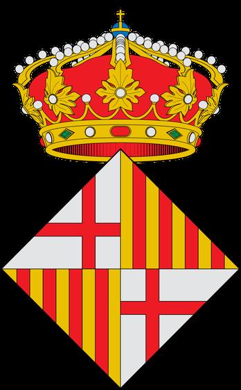 Герб города Барселона