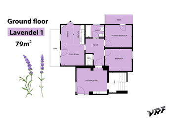 Sketch of our apartment Lavender I