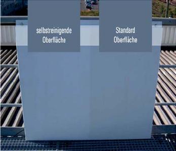Photokatalytische Beschichtung für lackierte Oberflächen und Metalle (Sprüh- oder Coilbeschichtung)