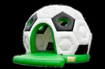 Fussball Hüpfburg mieten Frankfurt Hüpfburgen Verleih Eventmodule Kinderanimation Hessen Wiesbaden Darmstadt Idee Event