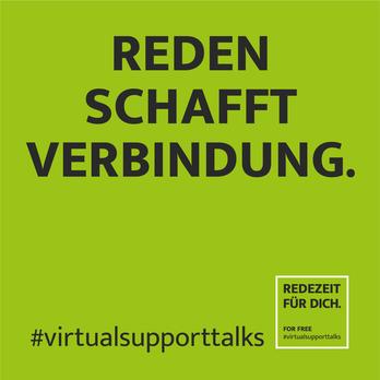 Reden schafft Verbindung, virtualsupporttalks