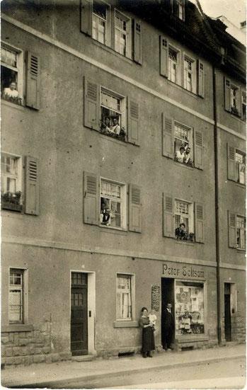 Theresienstraße 10 - Danke an Andreas Hedler