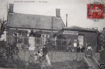 La poste de Monchy-Lagache début xxème siècle