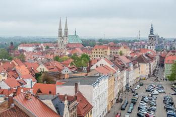 Görlitz, Blick vom Reichenbacher Turm