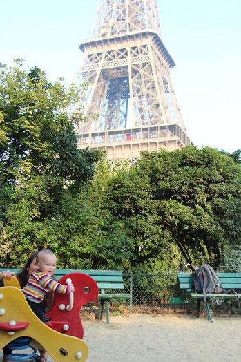 Paris Playground Eiffel Champs de Mars