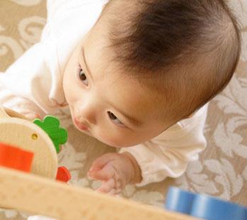 赤ちゃん,リビング学習,リビング・ダイニング