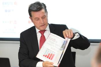 Hrebicek, Value to brands, European Brand Institute, EBI, Pressekonferenz, ÖMWS2017. Österreichische Marken Wert Studie 2017