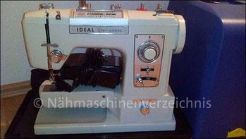 Ideal Star Automatik, Freiarm mit Einbaumotor, Hersteller: Brother (Bilder: F. Oprea-Ilcu)