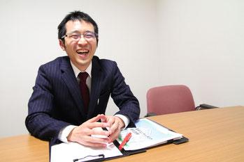 採用担当 取締役 業務管理室室長 畑佐陽祐