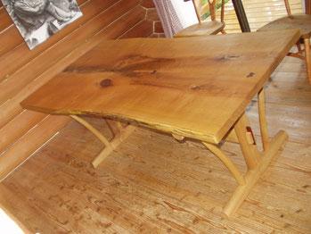 木のテーブル ダイニングテーブル 大きいサイズ